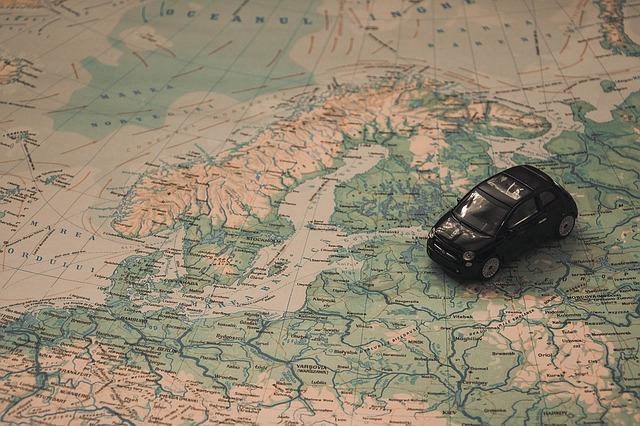 wakacje w europie mapa